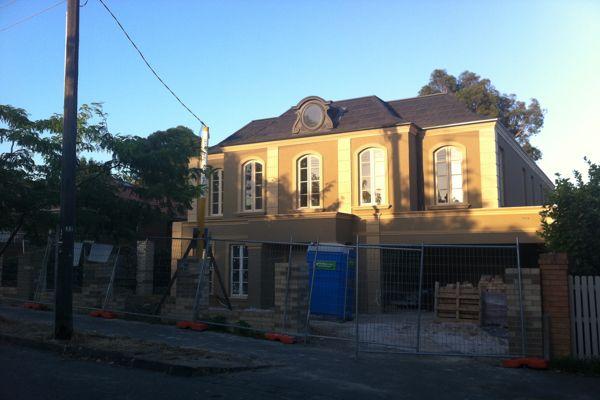 Melbourne House Roof Construction