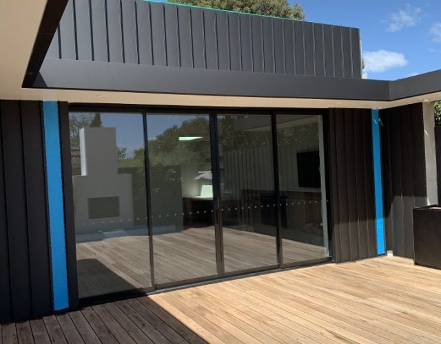 sunshine coast colorbond cladding
